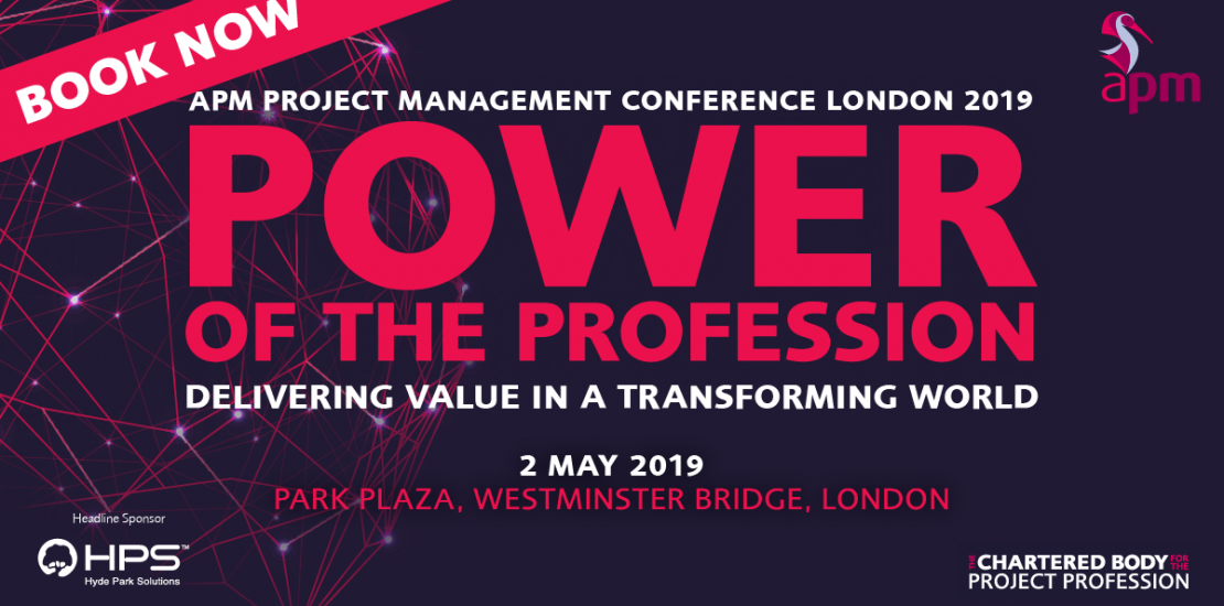 APM Project management Conference London - hydeparksolutions