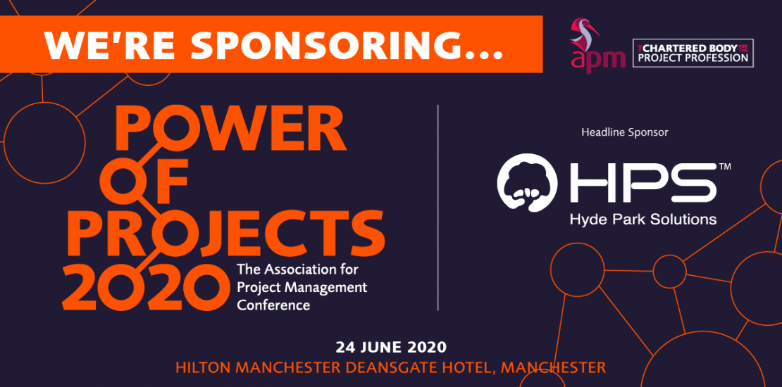 APM Power of Projects 2020 Manchester - hydeparksolutions
